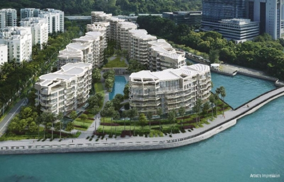 吉宝湾丽珊景艺术家印象  Corals At Keppel Bay Artist Impression