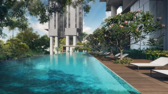 Stirling Residences 艺术家印象 Stirling Residences Artist Impression