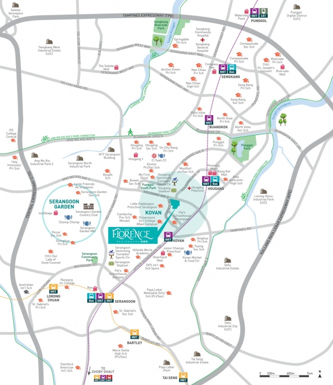 The-Florence-Residences-Location-Map