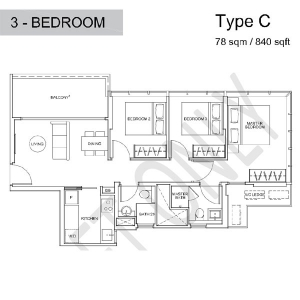 Wilshire-Residences-3-Bedroom-Floor-Plan2