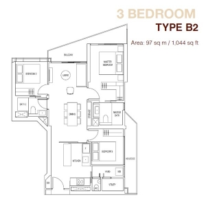 Artra-3-Bedroom-Type-B2