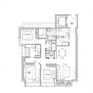 St-Regis-Residences-3-Bedroom-Floor-Plan
