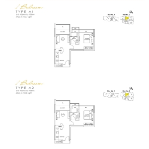 Lincoln-Suite-1-Bedroom-Floor-Plan