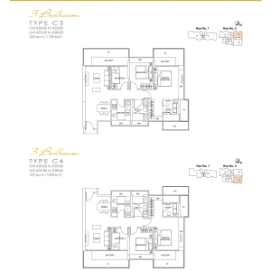 Lincoln-Suite-3-Bedroom-Floor-Plan