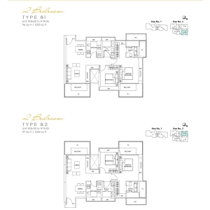 Lincoln-Suite-2-Bedroom-Floor-Plan