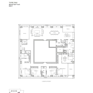 Nouvel-18-Penthouse-Floor-Plan
