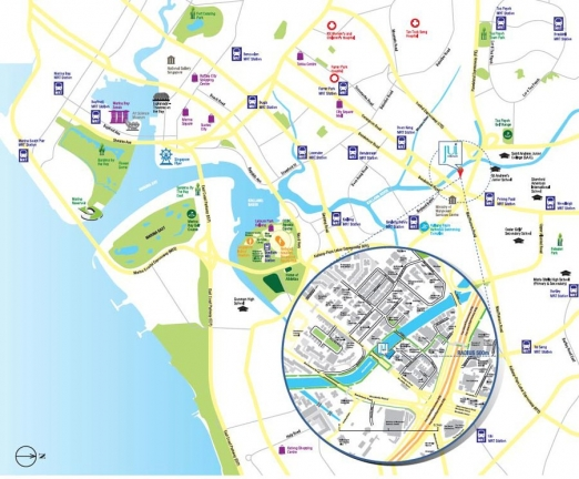 Jui Residences 位置图 Jui Residences Location Map