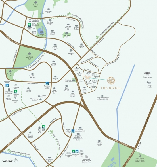 The Jovell 公寓平面图 The Jovell Site Plan