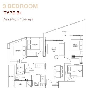 Artra-3-Bedroom-Type-B1