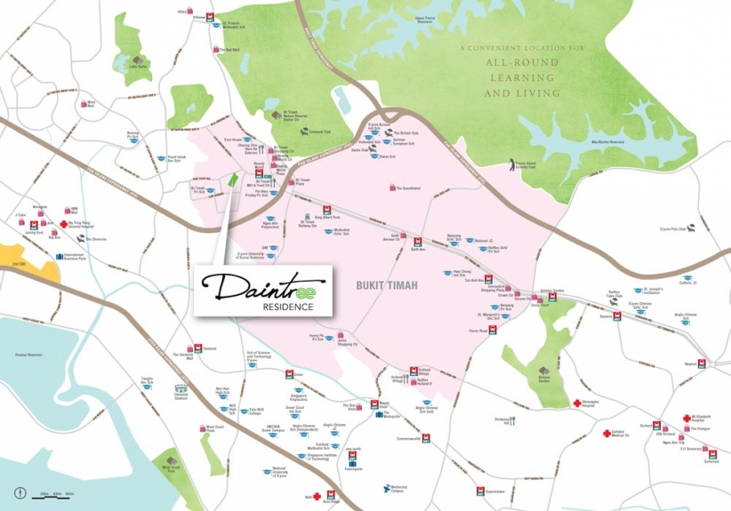 Daintree-Residence-Location-Map